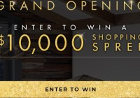 Stickley Audi Shopping Spree Sweepstakes