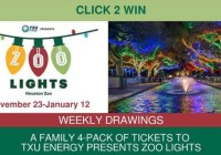 CLICK2WIN Zoo Lights Family 4-Pack Giveaway