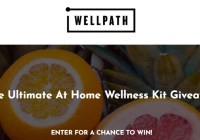 Wellpath Ultimate At Home Wellness Kit Giveaway