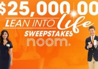 PCH $25000 Lean Into Life Sweepstakes