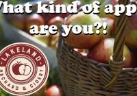 Lakeland Orchard Apple Quiz Sweepstakes