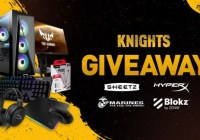 PLAYR.gg $3000 Knights Gaming PC Bundle Giveaway
