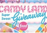 Television Food Network Food Network Candyland Super Sweet Giveaway