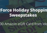 The Stores IdentityForce Holiday Shopping Spree Sweepstakes