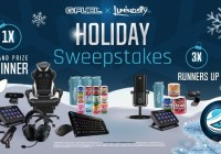 GFUEL, LLC G FUEL X Luminosity Holiday Giveaway