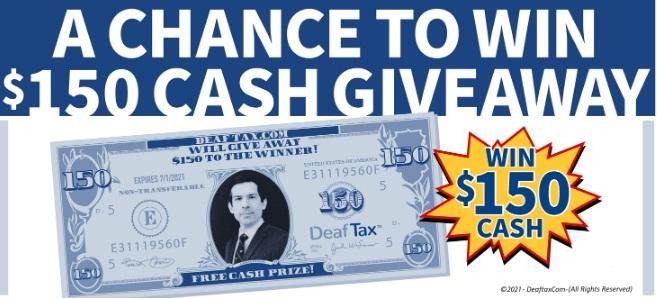 DeafTax Giveaway