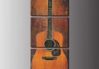Rock Cellar Magazine Three-Piece Acoustic Guitar Canvas Wall Print Giveaway