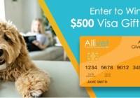 Allivet Visa Gift Card Giveaway