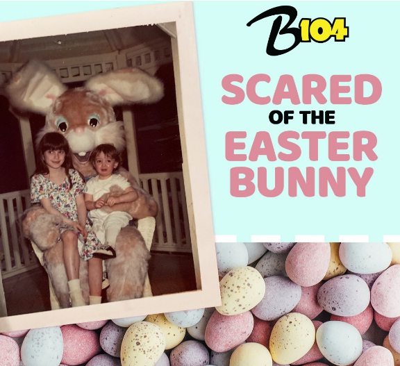 IHeartMedia Scared Of Easter Bunny Photo Contest