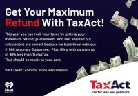 IHeartRadio Tax Act Boosts Your Returns Sweepstakes