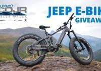 CDJR of Walla Walla Jeep E-Bike Giveaway