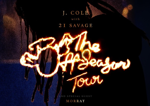 J. Cole With 21 Savage On The Off-Season Tour Sweepstakes