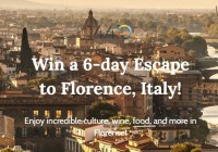 1440 Media Escape To Florence Sweepstakes
