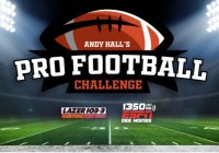 LAZER 103.3 And 1350 ESPN Pro Football Challenge Contest