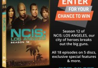 NCIS Los Angeles Season 12 DVD Sweepstakes
