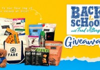 FARE Snack Back To School Giveaway