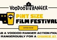 Voodoo Ranger Pint Size Film Festival Contest