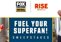 Fox Sports Fuel Your Superfan Sweepstakes