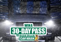 IHeartMedia Quick Quack Car Wash Sweepstakes