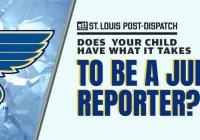St. Louis Post-Dispatch Blues Junior Reporter Contest