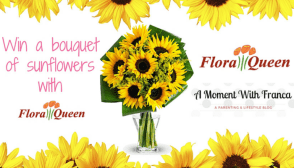 E: 16/07 WIN A BOUQUET OF SUNFLOWERS WITH FLORAQUEEN