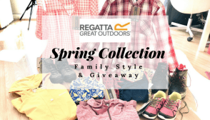 #Regatta Spring Collection #Giveaway #Win £100 voucher to spend at Regatta E:03/06