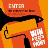 #Win a year's supply of #paint worth £5000 E:30/06