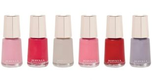 GIVEAWAY! gorgeous nails with #Mavala's nail polishes E:19/09 #BeautyBible