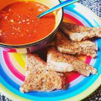Amped Up Grilled Cheese RECIPE With Dave's Killer Bread & Tomato Soup