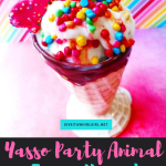 Party Hardy With A Yasso Frozen Yogurt Treat – Product Review of Party Animal Froyo