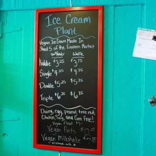 Vegan and Gluten-free ice-cream options