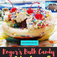 Our Visit To Roger's Bulk Candy & Ice-Cream - Because Sometimes A Girl Just Needs To Have Fun