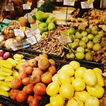 Exotic fruits at Nino Salvaggio's