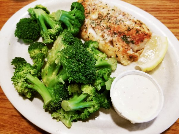 New York Deli in St Clair Shores, MI - Baked Cod