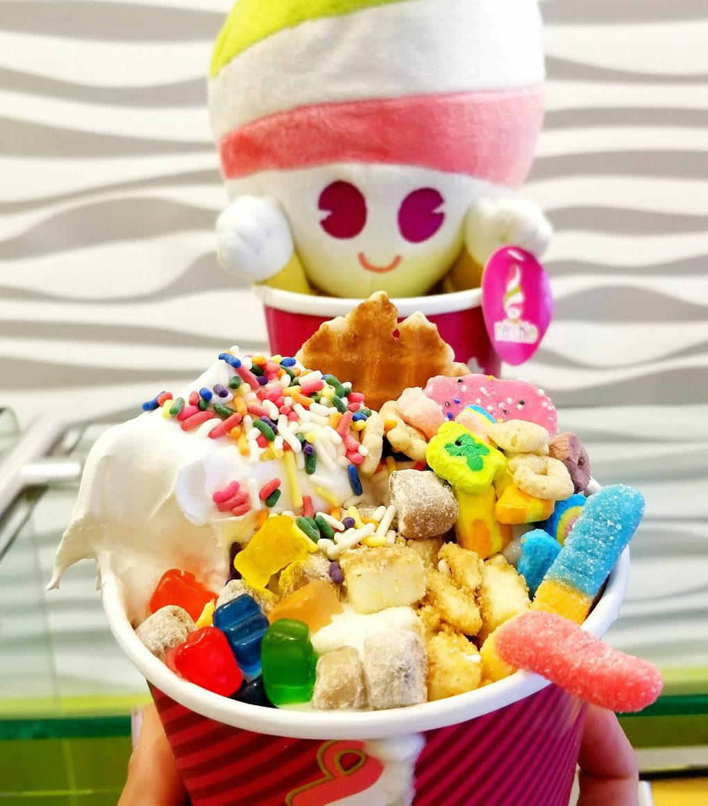 Menchie's Frozen Yogurt (Froyo) Build-Your-Own Creation