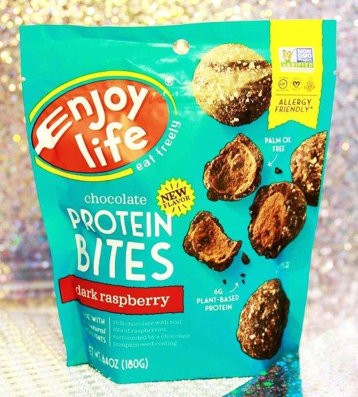 Enjoy Life Foods Gluten-Free Protein Bites - Dark Raspberry