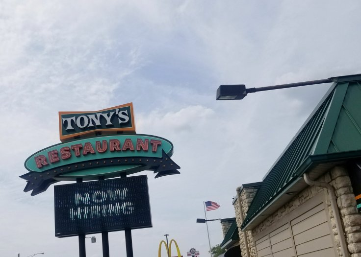 Tony's I-75 restaurant in Birch Run, MI