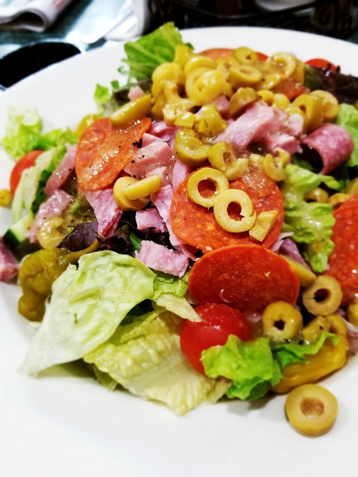 Antipasto Salad at Tony's I-75 Restaurant