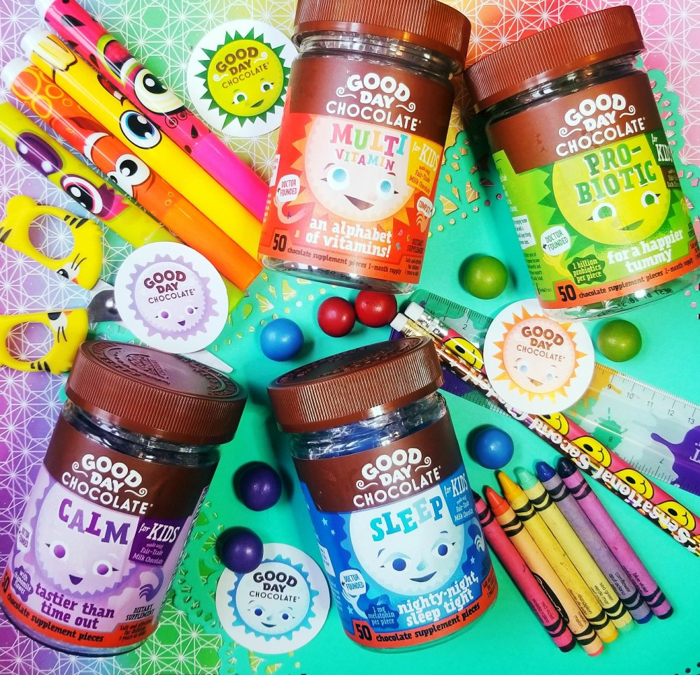 Good Day Chocolate Supplements for kids