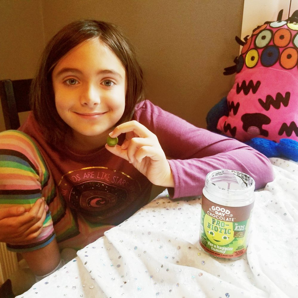 Chloe With Good Day Chocolate Probiotic For Kids