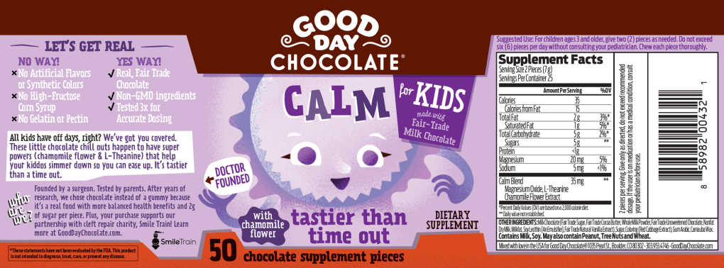 Calm---Facts-Panel---Good Day Chocolate For Kids