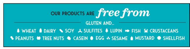 Enjoy Life free from common food allergens info