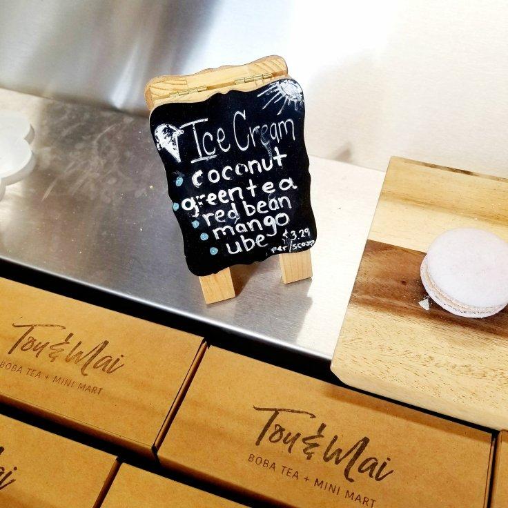 Ice-Cream Flavors At Tou & Mai