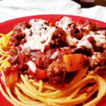 Ancient Harvest – Tri-Color Pepper, Ground Beef, & Italian Sausage Spaghetti Sauce RECIPE – Tried It Out Tuesday