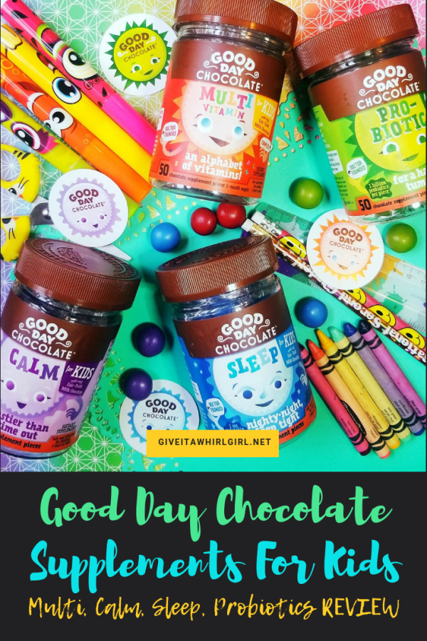 Good Day Chocolate Supplements For Children #Review