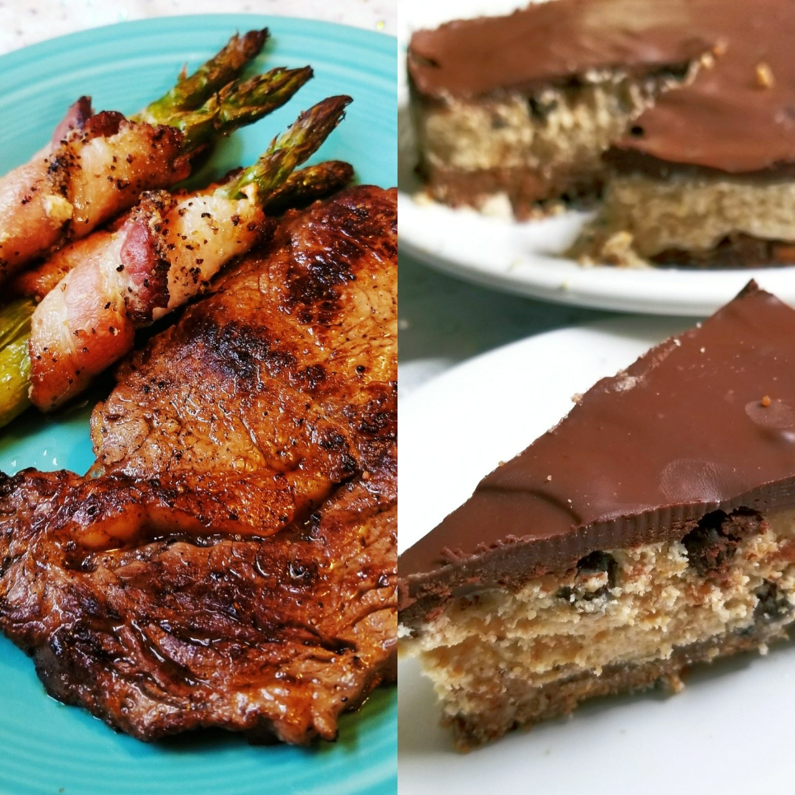 img 20180902 065027 5461989910428 - Paleo & Vegan Cookie Dough Cheesecake and Sesame Ginger Ribeye Steaks (Gluten-Free) Saturday Cooking Adventures
