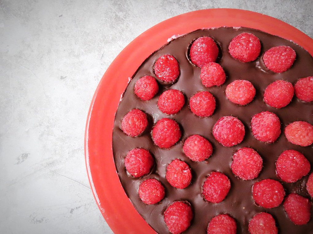 Paleo Dark Chocolate Raspberry Cheesecake Recipe (Vegan, Gluten-Free) GIVE IT A WHIRL GIRL