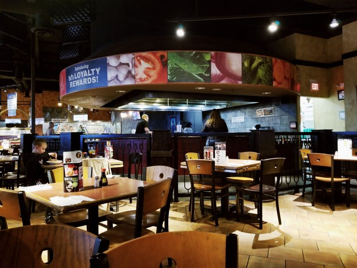 BD's Mongolian Grill interior in Sterling Heights, MI