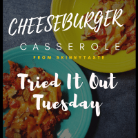 Cheeseburger Casserole From SkinnyTaste - Tried It Out Tuesday