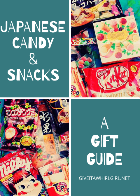 Japanese Candy & Snacks - Kawaii Sweets Gift Guide by Give It A Whirl Girl